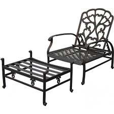 Wicker Reclining Patio Chair Lounge Chair Chairs Outside Chaise Lounge Outdoor Seating Sets