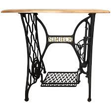 Singer Sewing Machine Desk Viyet Designer Furniture Tables Vintage Singer Sewing