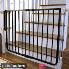 Baby Gate For Banister And Wall Cardinal Gates Auto Lock Safety Gate Free Shipping Today