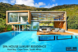 Home Design Magazines South Africa Spa House Luxury Residence U2013 Hout Bay Cape Town South Africa