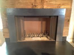 fireplace surround stamped concrete marysville ohio contractor