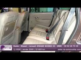siege auto isofix renault vente diesel renault grand scenic iii 2009