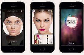 l oreal digital shift for real time beauty application