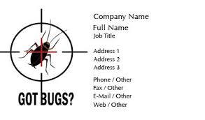 business card templates pest