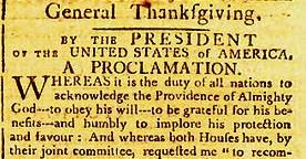 political pistachio george washington s thanksgiving proclamation