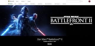 best black friday deals on starwars battlefront star wars battlefront ii confirmed as an u0027xbox one x enhanced