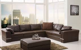 Inexpensive Leather Sofa Sofa Sectional Sofa Cuddler Chaise Beautiful Wrap Around Sofas