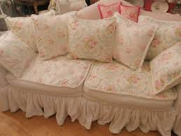 shabby chic sofa slipcovers comfortable and unique sofas