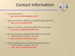 nrotc scholarship programs brief ppt video online download
