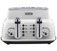 Delonghi Kettle And Toaster Sets Buy Delonghi Ctz4003w Scultura Delonghi Toaster White Free