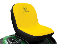 siege deere large seat cover yellow protection deere int