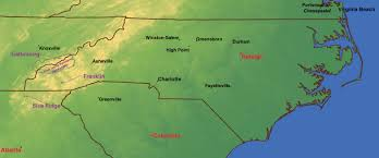 Blue Ridge Mountains Map Gatlinburg And The Great Smoky Mountains National Park Higdon