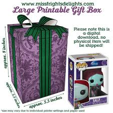 haunted mansion gift box instant download printable funko pop