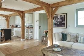 border oak open plan kitchen sitting room my perfect little