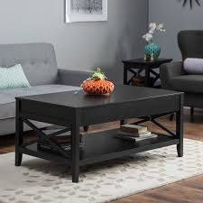 Cheap Side Table by Turner Lift Top Coffee Table Black Hayneedle