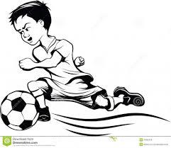 cartoon drawings football players football cartoons for coloring