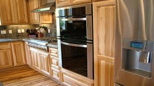 Hickory Kitchen Cabinets Wood Floors For Kitchens Hickory Kitchen Cabinets With Wood