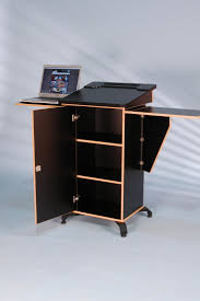 Office Table Back View 7 Best Lectern Images On Pinterest Desk Presentation And Cabinet