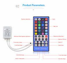 led strip lights remote 1set ip20 waterproof ip65 rgbw rgb white rgbww 12v 5m 5050 led