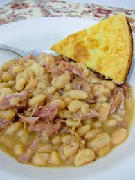 slow cooker ham u0026 white beans plain chicken u2026 pinteres u2026