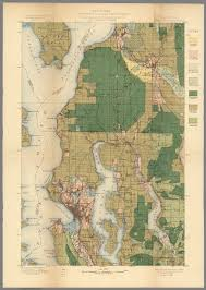 Map Of Seattle Area Plate Cxxx Seattle Quadrangle Washington Land Classification