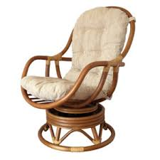 Rocking Chair With Cushions Swivel Rocking Chair David Color White With Cushion Handmade Eco