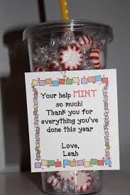 Christmas Gifts For Volunteers Simply Made With Love End Of The Year Gifts