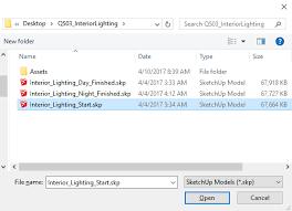 interior lighting quickstart v ray for sketchup chaos group help