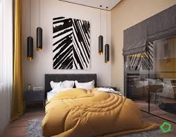Yellow Bedroom Walls 3 Open Layout Interiors With Yellow As The Highlight Color