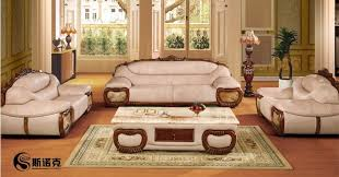 Luxury Leather Sofa Sets Luxury White Leather Sofa Set Designs For Living Room With