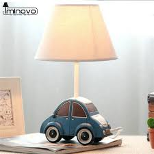popular blue table lamp buy cheap blue table lamp lots from china iminovo table lamp e14 bulbs dimmable bedside lamp cute blue car lighting desk lamps for living