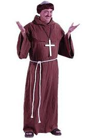 medieval halloween costume medieval monk costume with wig escapade uk