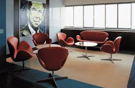 Swan Chair Leather Swan Sofa Design Within Reach
