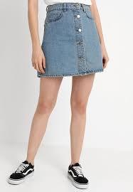 light blue skater skirt noisy may petite nmsunny short skaterskirt a line skirt light