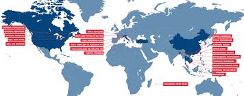 Dongguan China Map by Bgroup Bgroup Worldwide