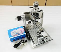 4 axis table top cnc small 4th axis cnc 3020 router 4 axis cnc router milling machine