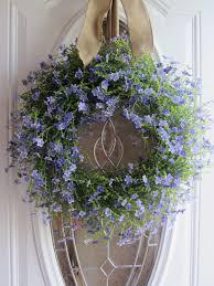 wreath for front door summer wreath front door wreath country wreath lilac wreath