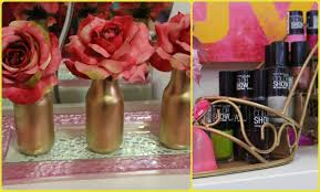diy room decor ideas gold edition youtube