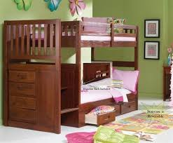 Amazon Com Bunk Bed All In 1 Loft With Trundle Desk Chest Closet by 34 Fun Girls And Boys Kid U0027s Beds U0026 Bedrooms Photos
