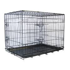 go pet club metal cage with divider walmart com