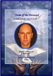 memorial card template word 99 memorial card template word