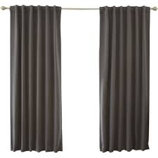 Blue And Grey Curtains Navy Blue And Gray Curtains Wayfair