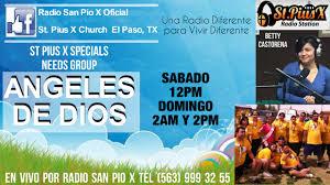 Radio Catolica De Jesus Y Maria St Pius X U2013 El Paso Tx