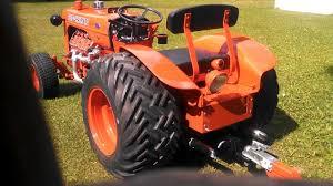 mini b 1949 ford flathead v8 in a case garden tractor youtube