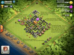 coc map layout th6 exle bases clash of clans corner