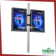 Outdoor Light Box Signs Outdoor Aluminum Frame L Light Box Outdoor