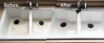 Kitchen Sink Resurfacing - Reglazing kitchen sink