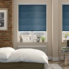 Roller Blinds Bedroom by Choices Dupioni Faux Silk Teal Blackout Roller Blind Teal Roller