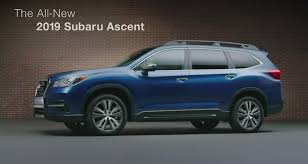 subaru forester 2019 all we u0027ll drive 2019 subaru ascent details