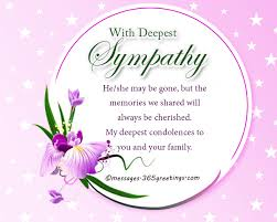 condolences greeting card sympathy messages and wishes 365greetings